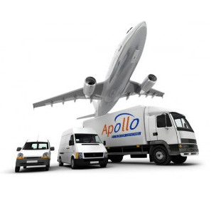 This is a picture of the vehicles and services we can offer to delivery consignments